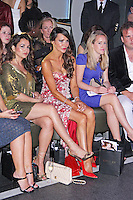 Lizzie Cundy, LFW s/s 2015: Nina Naustdal - Catwalk Show, Le Peep Boutique, London UK, 16 September 2014, Photo by Brett D. Cove