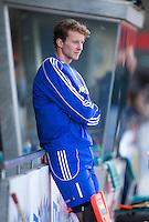 MELBOURNE - Doelman Jaap Stockmann voor  de hockeywedstrijd tussen de mannen van Nederland en Belgie (5-4) bij de Champions Trophy hockey in Melbourne. ANP KOEN SUYK