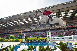 Soren Pedersen, (DEN), Tailormade Esperanza  - World Champions, - Second Round Team Competition - Alltech FEI World Equestrian Games™ 2014 - Normandy, France.<br /> © Hippo Foto Team - Leanjo De Koster<br /> 25/06/14