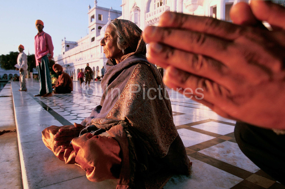 Pilgrims at the Golden Temple, Amritsar, India