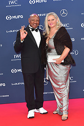 February 18, 2019 - Monaco, Monaco - Marvin Hagler arriving at the 2019 Laureus World Sports Awards on February 18, 2019 in Monaco  (Credit Image: © Famous/Ace Pictures via ZUMA Press)