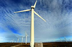 Windfarm near Halifax West Yorkshire UK
