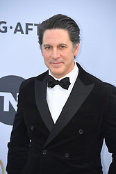 January 27, 2019 - Los Angeles, California, U.S - SCOTT COHEN during silver carpet arrivals for the 25th Annual Screen Actors Guild Awards, held at The Shrine Expo Hall. (Credit Image: © Kevin Sullivan via ZUMA Wire)
