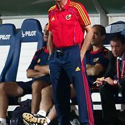 Spain's coach Ignacıo QUEREDA during their UEFA 2013 Woman's Euro Qualifying Group Stage Group 2 soccer match Turkey betwen Spain at Kasimpasa Recep Tayyip Erdogan stadium in Istanbul September 17, 2011. Photo by TURKPIX