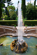 Fountain of the Dragons, Villa d'Este, Tivoli, Italy - Unesco World Heritage Site. .<br /> <br /> Visit our ITALY PHOTO COLLECTION for more   photos of Italy to download or buy as prints https://funkystock.photoshelter.com/gallery-collection/2b-Pictures-Images-of-Italy-Photos-of-Italian-Historic-Landmark-Sites/C0000qxA2zGFjd_k<br /> If you prefer to buy from our ALAMY PHOTO LIBRARY  Collection visit : https://www.alamy.com/portfolio/paul-williams-funkystock/villa-este-tivoli.html