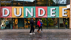 Dundee, Scotland, UK. 27 November 2020 . Views of streets of Dundee in Tayside on Black Friday sales with many shoppers buying Christmas shopping during a level 3 lockdown during Covid-19 pandemic.Pictured; Overgate shopping centre is busy in run up to Christmas.  Iain Masterton/Alamy Live News