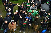 Cricket - 2019 ICC Cricket World Cup - Group Stage: Bangladesh vs. Sri Lanka<br /> <br /> Bangladesh fans in good spirits despite the game being called off, at County Ground, Bristol.<br /> <br /> COLORSPORT/ASHLEY WESTERN