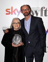 James Gay-Rees presented Tarn Harper (left) with the Film Finances Project Management Award at the Women in Film & TV Awards at the Hilton hotel in central London.