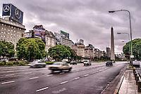 Avenida 9 de Julio & El Obelisco