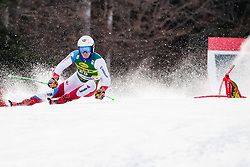 Bissig Semyel (SUI) during the Audi FIS Alpine Ski World Cup Men's Giant Slalom at 60th Vitranc Cup 2021 on March 13, 2021 in Podkoren, Kranjska Gora, Slovenia Photo by Grega Valancic / Sportida