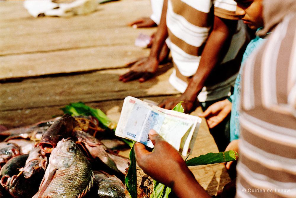 In Oost Afrika noemen ze het Victoria Nyanza; Lake Victoria, het grootste zoetwatermeer van Afrika. Het behoort tot de Great African Lakes en is de een na grootste zoetwaterbron op aarde. Het water komt binnen via regenval en duizenden kleine stromen. De rivier de Nijl zorgt voor de grootste uitstroom, het water van Lake Victoria is vitaal voor deze rivier. Lake Victoria ligt in Oost Afrika, omringt door Oeganda, Kenia, Tanzania.<br /> De Nile Perche in de afgelopen decennia economische van belang is geweest voor Oost Afrikaanse landen rondom Lake Victoria (voor Oeganda staat de visexport zelfs op de 2e plaats, na koffie).Maar er zijn er grote gevolgen op ecologisch gebied. In de jaren '80 nam de populatie van de vis explosief toe, de zogenaamde Nile perch 'boom'. Het veroorzaakte een verstoring van het ecologische systeem in het zoetwatermeer door een verandering van de voedselketen. Door het eetpatroon van de grote Nile perche zijn kleinere vissen en algsoorten verdwenen. De unieke samenstelling van het waterleven in Lake Victoria is door toedoen van het uitzetten van de Nile Perche in de laatste decennia verloren gegaan.<br /> Niet alleen is er verandering opgetreden in het ecologische systeem. Ook de tradities van de kleine vissers rondom Lake Victoria is veranderd. Voor 1950 waren de vissers voornamelijk vrouwen uit lokale dorpen. Zij viste in ondiep water op de kleinere Dagaa vis. Deze vis werd vooral gebruikt voor kippen en niet direct voor consumptie. Deze traditionele manier van visserij veranderde met de komst van de Nile Perche. Met de komst van commerciëlevisserij was de internationale vishandel in Oost Afrika een feit.