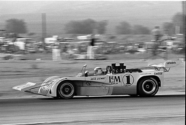Jackie Stewart, Lola T260, 1971 Riverside Can-Am