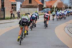 Alison Tetrick chases back on to the main group - Women's Gent Wevelgem 2016, a 115km UCI Women's WorldTour road race from Ieper to Wevelgem, on March 27th, 2016 in Flanders, Netherlands.