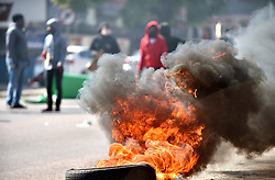 South Africa - Pretoria - 09 July 2020 - Residents of Thembelihle low costing housing complex protesting after court papers filed against some of them for violence.<br /> <br /> Picture: Thobile Mathonsi/African News Agency(ANA)