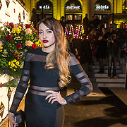 NLD/Amsterdam/20141209 - uitreiking Grazia Fashion Awards 2014, Christina Curry