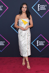 People's Choice Awards 2018 at Barker Hanger on November 11, 2018 in Santa Monica, CA. © O'Connor/AFF-USA.com. 11 Nov 2018 Pictured: Camila Mendes. Photo credit: O'Connor/AFF-USA.com / MEGA TheMegaAgency.com +1 888 505 6342