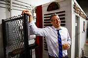 Democratic presidential candidate Tim Ryan after speaking to the Polk County Democrats during a campaign stop Sunday, April 7, 2019, at Fox Brewing in West Des Moines, Iowa.<br /> Scott Morgan for Time
