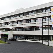 NLD/Hilversum/20120223 - Diverse panden op het Mediapark in Hilversum