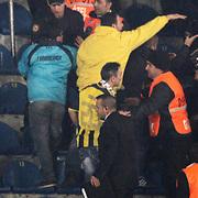 Fenerbahce's Supporters fans during their Turkish superleague soccer match Fenerbahce between Bursaspor at the Sukru Saracaoglu stadium in Istanbul Turkey on Sunday 10 March 2013. Photo by Aykut AKICI/TURKPIX