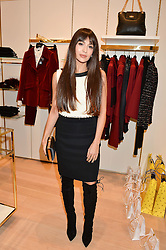 ZARA MARTIN at the launch of the Luisa Spagnoli Flagship store at 171 Piccadilly, London on 13th October 2016.