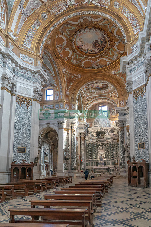 A view of the Santa Maria Assunta detta I Gesuiti church in Venice. From a series of travel photos in Italy. Photo date: Tuesday, February 12, 2019. Photo credit should read: Richard Gray/EMPICS