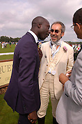 Oswald Boateng. Cartier International Day at Guards Polo Club, Windsor Great Park. July 24, 2005. ONE TIME USE ONLY - DO NOT ARCHIVE  © Copyright Photograph by Dafydd Jones 66 Stockwell Park Rd. London SW9 0DA Tel 020 7733 0108 www.dafjones.com