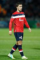 FOOTBALL - UEFA CHAMPIONS LEAGUE 2011/2012 - GROUP STAGE - GROUP B - LILLE OSC v INTER MILAN - 18/10/2011 - PHOTO CHRISTOPHE ELISE / DPPI - EDEN HAZARD (LOSC)