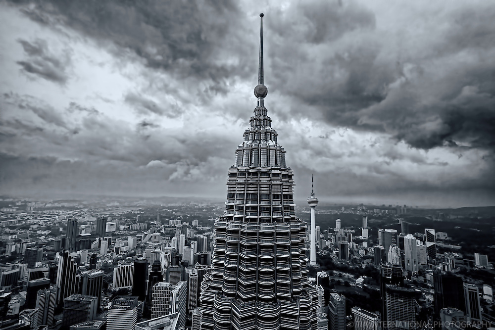View from Petronas Towers' Observation Deck