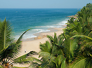 A near deserted beach near Kovalam and Trivandrum (Thiruvananthapuram), Kerala, India