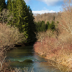 Clarion River in Jones Township, PA.