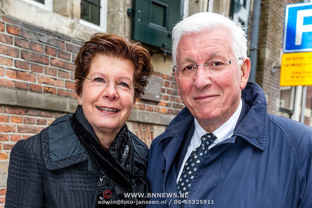NLD/Naarden//20170414 - Matthaus Passion in de grote kerk van Naarden, Maartje van Weegen en partner Joop Daalmeijer