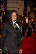 HEATHER SMALL, Memphis, The Musical. Press night and after party. Shaftesbury Theatre, London WC2 and party at Floridita, Wardour st. Soho.