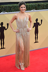 January 20, 2018 - Los Angeles, California, U.S. - ERIN LIM during red carpet arrivals for the 24th Annual Screen Actors Guild Awards, held at The Shrine Expo Hall. (Credit Image: © Kevin Sullivan via ZUMA Wire)