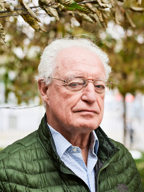 Charles Gave, a French economist, is the president of the Institut des Libertes, a right-wing think-tank. Paris, France. October 22, 2018.<br /> Charles Gave, economiste français, est le president de l'Institut des Libertes, un laboratoire d'idees ancre a droite. 22 octobre 2018.