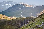 Reindeer Slope | Reindeers running on the mountain slope, Norway