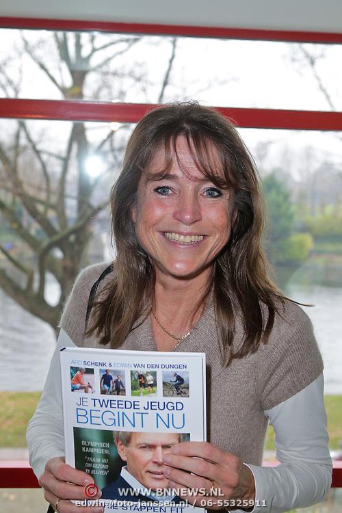 """NLD/Amsterdam/20111109- Boekpresentatie Ard Schenk """" Je tweede Jeugd begint nu"""", Yvonne van Gennip"""