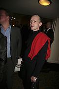 Michael Clark, The South Bank Show Awards, Savoy Hotel. London. 23 January 2007.  -DO NOT ARCHIVE-© Copyright Photograph by Dafydd Jones. 248 Clapham Rd. London SW9 0PZ. Tel 0207 820 0771. www.dafjones.com.