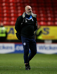 Rochdale's manager Keith Hill at full time