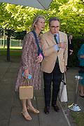 PHILIPPA WALKER; PETER YORK, Party  to celebrate Julia Peyton-Jones's  25 years at the Serpentine. London. 20 June 2016