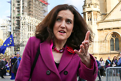 © Licensed to London News Pictures. 05/11/2019. London, UK. Secretary of State for Environment, Food & Rural Affairs THERESA VILLIERS in Westminster. A general election will be held on 12 December 2019.Photo credit: Dinendra Haria/LNP