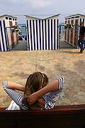 ITALY, Liguria, S. Margherita: lungomare.....ITALY, Liguria, S. Margherita:seashore