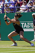 Johanna Konta (GBR)  at the Nature Valley International at Devonshire Park, Eastbourne, United Kingdom on 27th June 2018. Picture by Jonathan Dunville.