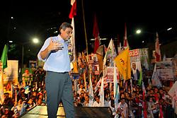 Sebastião Melo durante o comício da vitória, no Largo Glênio Perez, em Porto Alegre. FOTO: Jefferson Bernardes/Preview.com