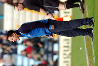 Fotball<br /> Picture: Henry Browne, Digitalsport.<br /> Norway Only<br /> <br /> Date: 10/04/2004.<br /> Coventry City v Millwall Nationwide Division One.<br /> <br /> Dennis Wise screams at his players.