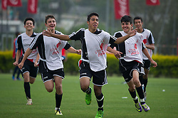 Lance da partida entre Cruzeirinho X Projeto Cae válida pelas finais da Copa Coca-Cola 2013 de Futebol, no CT Alvorada do S.C. Internacional. Foto: Vinícius Costa/ Agência Preview