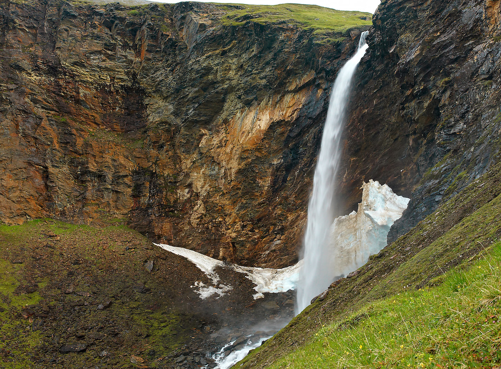 Norway - Fosselvfossen waterfall