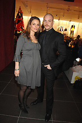 Actor TOM HARDY and RACHEL SPEED at a party to celebrate the opening of the new H&M store at 234 Regent Street, London on 13th February 2008.<br /><br />NON EXCLUSIVE - WORLD RIGHTS