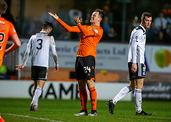 Dundee United's Lawrence Shankland after he missed a chance. Dundee United 4 v 0 Ayr United, Scottish Championship game played 21/12/2019 at Dundee United's stadium Tannadice Park.