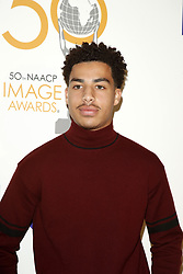 March 9, 2019 - Los Angeles, CA, USA - LOS ANGELES - MAR 9:  Marcus Scribner at the 50th NAACP Image Awards Nominees Luncheon at the Loews Hollywood Hotel on March 9, 2019 in Los Angeles, CA (Credit Image: © Kay Blake/ZUMA Wire)