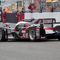 #4 Audi R18 Ultra, Audi Sport North America, Drivers: Bonanom/Jarvis/Rockenfeller, Le Mans 24H, 2012